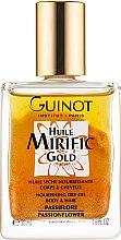 Духи, Парфюмерия, косметика Золотое сухое масло для волос и тела - Guinot Huile Mirific Gold Nourishing Dry Oil Body & Hair