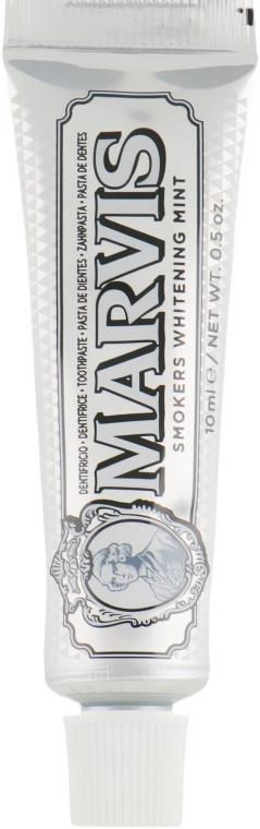 """Зубная паста """"Отбеливающая мята для курильщиков"""" - Marvis Smokers Whitening Mint (мини)"""