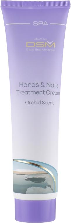 Регенерирующий крем для рук и ногтей с ароматом орхидеи - Mon Platin DSM Hand & Nails Treatment Cream