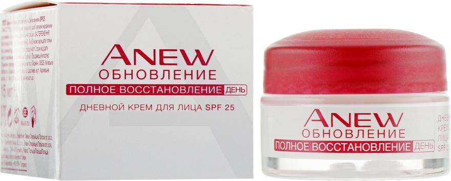 """Дневной крем для лица """"Обновление"""", SPF25 - Avon Anew"""