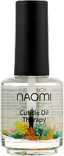 "Духи, Парфюмерия, косметика Цветочное масло для кутикулы ""Миндаль"" - Naomi Cuticle Oil"