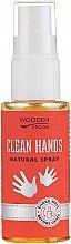 Духи, Парфюмерия, косметика Антибактериальный спрей для рук - Wooden Spoon Clean Hands Natural Spray