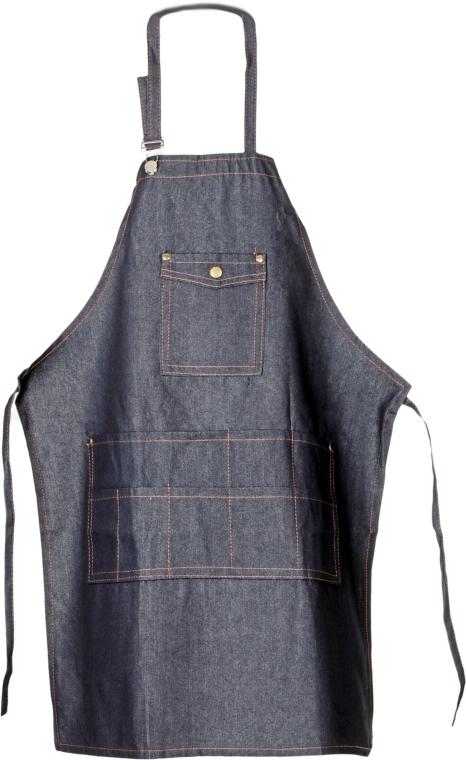 Фартук, 905072-1D, джинсовый - SPL