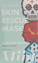 Духи, Парфюмерия, косметика Маска-патчи для комбинированной кожи лица - Petite Amie Skin Rescue Mask, Tattoo Patches