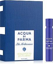Духи, Парфюмерия, косметика Acqua di Parma Blu Mediterraneo Bergamotto di Calabria - Туалетная вода (пробник)