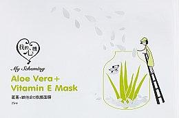 """Духи, Парфюмерия, косметика Тканевая маска """"Алое вера и витамин E"""" - My Scheming Aloe Vera + Vitamin E Mask"""