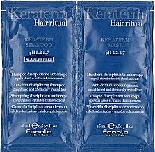 Духи, Парфюмерия, косметика Набор пробников для реконструкции поврежденных волос - Fanola Keraterm