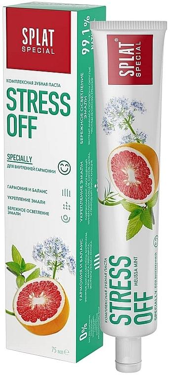 Зубная паста - SPLAT Stress Off