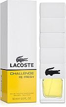 Духи, Парфюмерия, косметика Lacoste Challenge Re/Fresh - Туалетная вода