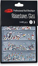 Духи, Парфюмерия, косметика Стразы для ногтей - PNB Colorful Mix SS2,3,6,8,10,12 Glass