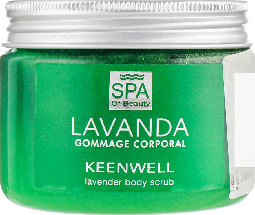 Скраб для тела с лавандой - Keenwell SPA of Beauty Lavanda Body Scrub