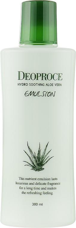 Успокаивающая эмульсия от морщин с экстрактом алоэ вера - Deoproce Hydro Soothing Aloe Vera Emulsion