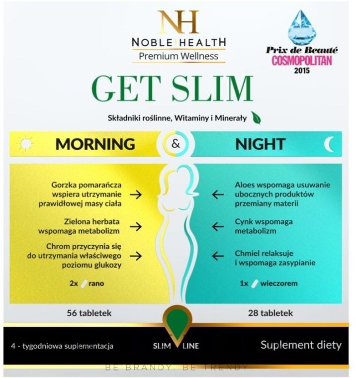 Комплекс для похудения, 84шт - Noble Health Get Slim — фото N1