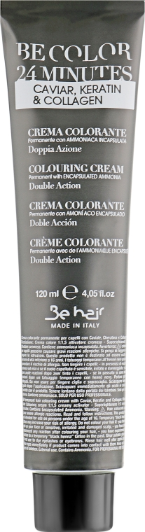 Стойкая крем-краска для волос - Be Hair Be Color 24 Min Colouring Cream — фото N2