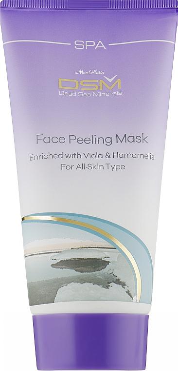 Маска-пилинг для лица - Mon Platin DSM Face Peeling Mask