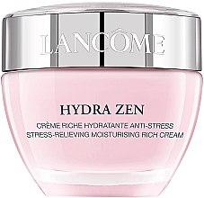 Духи, Парфюмерия, косметика Увлажняющий дневной крем для сухой кожи лица - Lancome Hydra Zen Moisturising Rich Cream