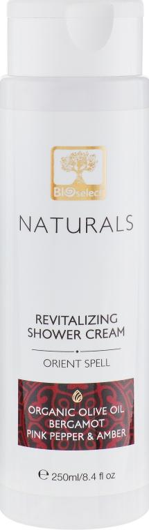 """Нежный крем-гель для душа """"Восточное заклинание"""" - BIOselect Naturals Shower Cream Gel"""