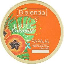 """Духи, Парфюмерия, косметика Сахарный скраб для тела восстанавливающий """"Папайя"""" - Bielenda Exotic Paradise Regenerating Body Scrub Papaja"""