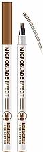 "Духи, Парфюмерия, косметика Маркер для бровей ""Microblade Effect"" - Belor Design Tint Browliner"
