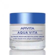 Духи, Парфюмерия, косметика Увлажняющий крем для для нормальной и сухой кожи с фитоэндорфинами - Apivita Aqua Vita Ultimate Moisture Cream