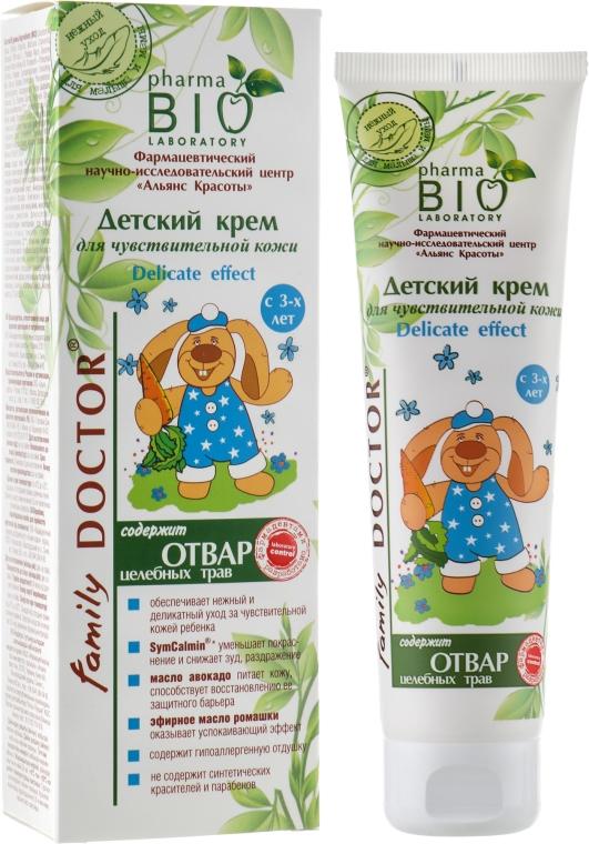 """Детский крем для чувствительной кожи """"Delicate effect"""" - Pharma Bio Laboratory"""