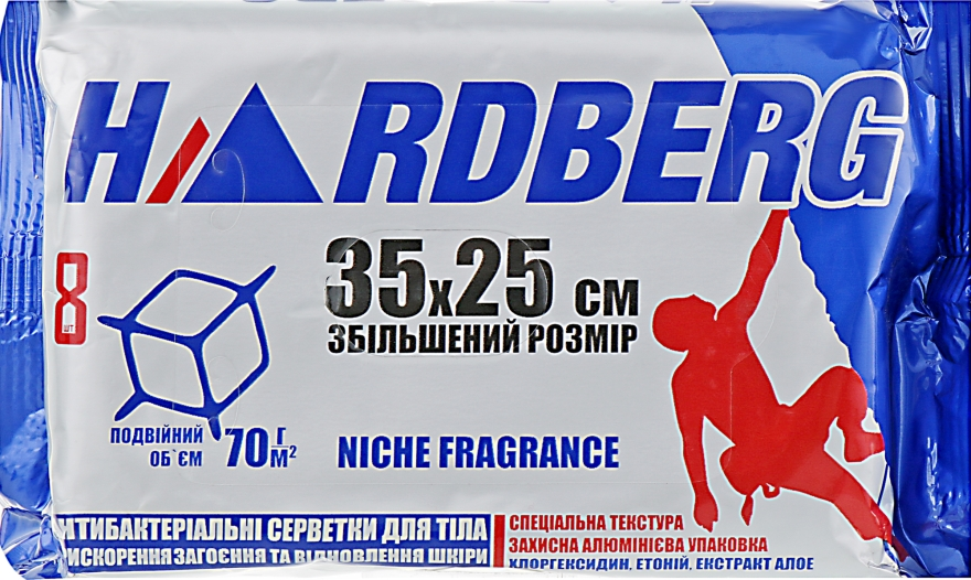"Влажные полотенца ""Hardberg Niche Fragrance"" - Power Pro Hardberg"