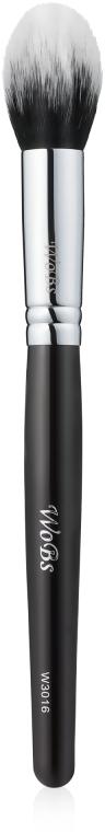 Кисть для румян и коррекции W3016, синтетика - WoBs