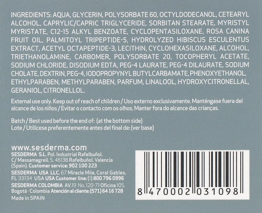 Зволожуючий крем проти зморшок - SesDerma Laboratories BTSeS Anti-wrinkle Cream — фото N3
