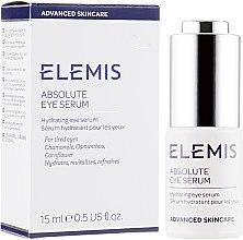 "Духи, Парфюмерия, косметика Сыворотка для век ""Коррекция морщин"" - Elemis Advanced Skincare Absolute Eye Serum"