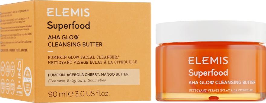Масляный очиститель для сияния кожи - Elemis Superfood AHA Glow Cleansing Butter