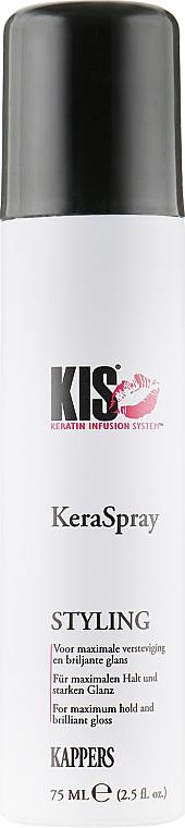 Сухой лак для максимальной фиксации - Kis Care Styling KeraSpray