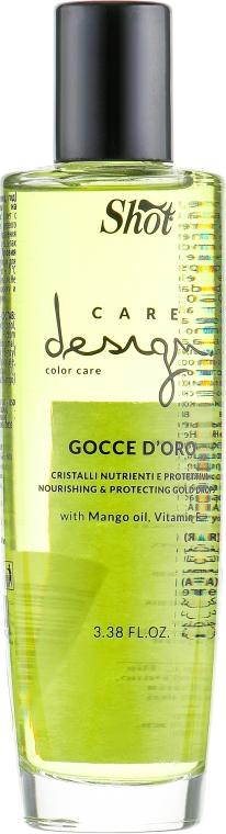 Shot Care Design Color Care Nourishing & Protecting Gold Drops - Кристаллы золотые для окрашенных волос: купить по лучшей цене в Украине   Makeup.ua