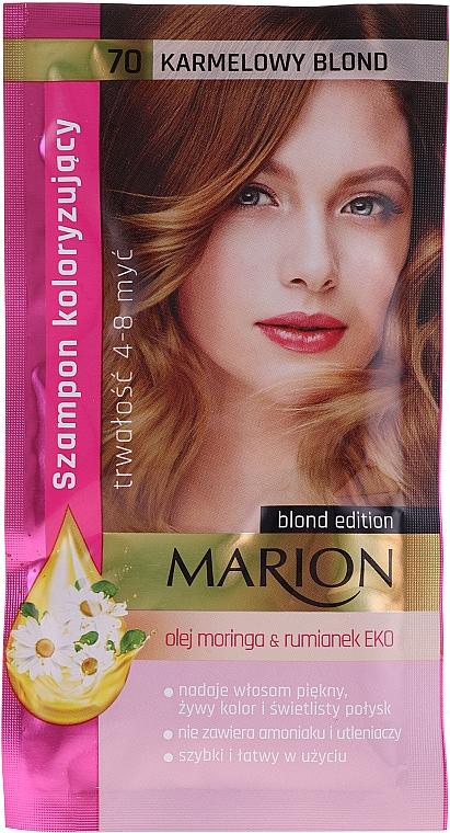 Оттеночный шампунь для волос без аммиака и перекиси водорода - Marion