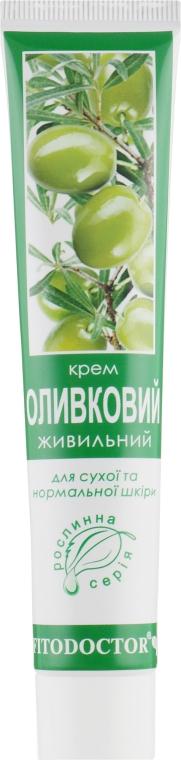 """Крем """"Оливковый"""" питательный для сухой и нормальной кожи - Фитодоктор"""