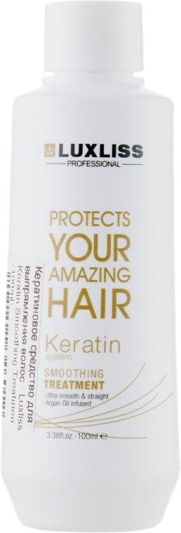Кератиновое средство для выпрямления волос - Luxliss Keratin Smoothing Treatmen
