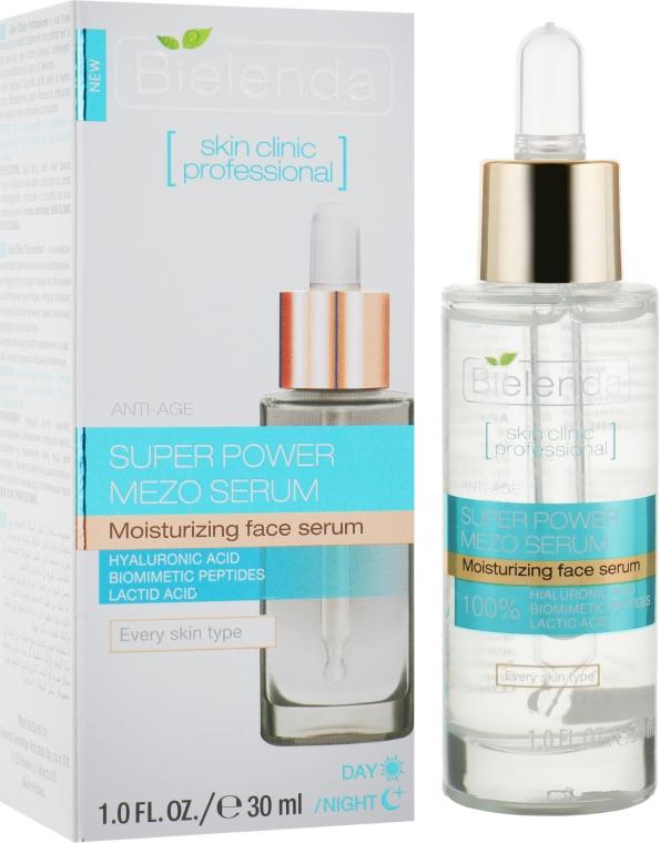 Активная увлажняющая сыворотка дневная/ночная - Bielenda Skin Clinic Professional Mezo Serum Anti-age
