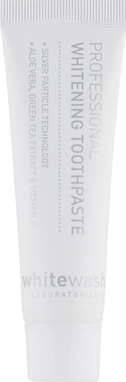 Отбеливающая зубная паста с частицами серебра + защита десен - WhiteWash Laboratories Professional Whitening Toothpaste With Silver Particles
