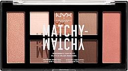 Духи, Парфюмерия, косметика Палетка теней для век и пудр для лица - NYX Professional Makeup Matchy Matchy Palette