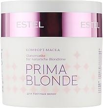 Парфумерія, косметика Комфорт-маска для світлого волосся - Estel Professional Prima Blonde