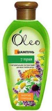 """Шампунь для волос """"7 трав"""" - Oleo"""