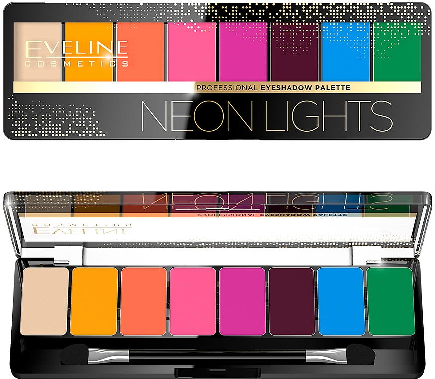 Палетка теней для век - Eveline Cosmetics Professional Eyeshadow Palette