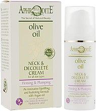 Духи, Парфюмерия, косметика Укрепляющий крем для шеи и зоны декольте - Aphrodite Neck & Decollete Cream