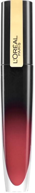 Жидкая глянцевая стойкая помада-тинт для губ - L'Oreal Paris Brilliant Signature