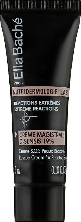 Крем для шкіри підвищеної чутливості - Ella Bache Nutridermologie® Lab Creme Magistral D-Sensis 19 % (пробник) — фото N1