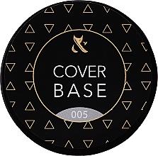 Духи, Парфюмерия, косметика Базовое камуфлирующее покрытие для ногтей (банка) - F.O.X Cover Base