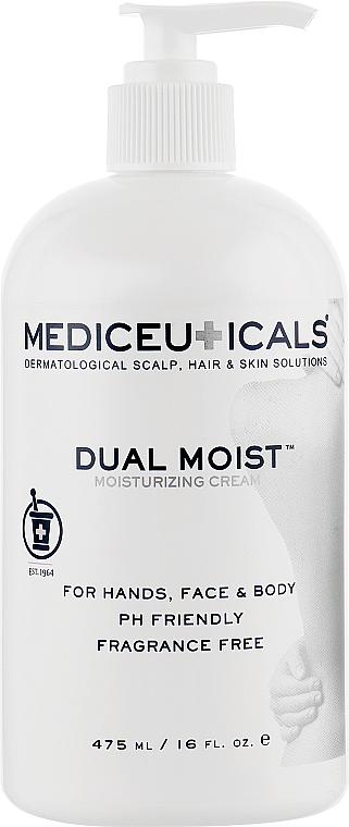 Крем для увлажнения и заживления кожи рук и тела - Mediceuticals Special Care Dual Moist