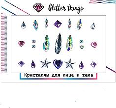 "Духи, Парфюмерия, косметика Кристаллы для лица и тела ""Россыпь звезд"" - Glitter Things"