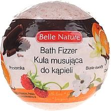 Духи, Парфюмерия, косметика Бурлящий шарик для ванны, оранжевый - Belle Nature