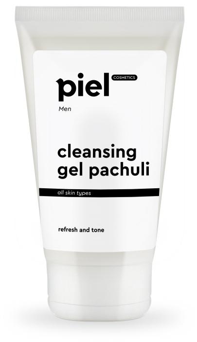 Мужской тонизирующий гель для умывания с пачули - Piel Cosmetics Men Cleansing Gel Patchouli