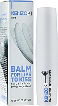 Бальзам для губ - KenzoKi Balm for Lips to Kiss — фото N2